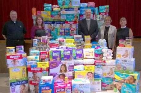 Boonton, Mountain Lakes churches gather items for infants