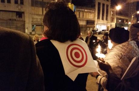 Coverage of the Candlelight Vigil for Peace