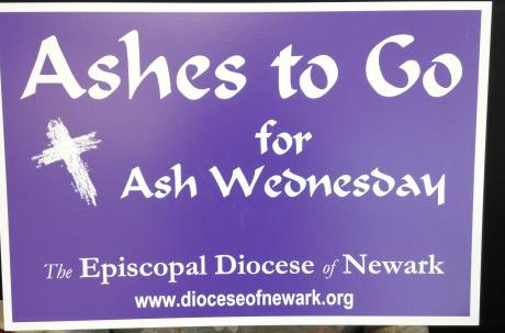 """Ashes to Go"" for Ash Wednesday"
