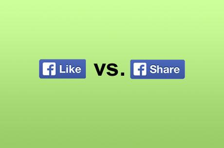 "Facebook buttons decoded: ""Like"" is nice, but ""Share"" is stronger"