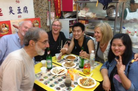 From the House of Bishops meeting: Dinner at Night Market