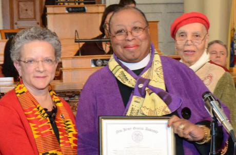 Sandye Wilson recognized by New Jersey General Assembly