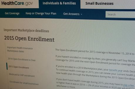 Senior Moments: Open enrollment begins November 15 at healthcare.gov